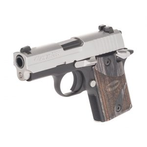 Sig Sauer P938 Blackwood X-Ray NS 9mm Sub-Compact 7-Round Pistol