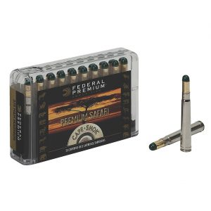 Federal Premium Cape-Shok 9.3mm x 62 Mauser 286-Grain Woodleigh Hydro Solid Centerfire Ammunition