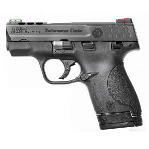 Smith & Wesson M&P9 Shield Performance Center Fiber Optic 9mm Compact 8-Round Pistol