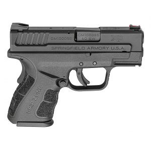 Springfield Armory® XD® MOD.2™ .40 S&W 3″ Subcompact Pistol