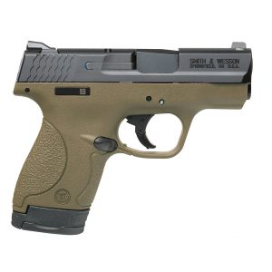 Smith & Wesson M&P9 Shield FDE 9mm Compact 8-Round Pistol