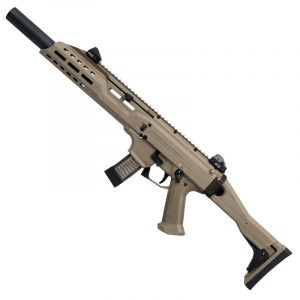 CZ Scorpion EVO 3 S1 9mm Carbine Faux Suppressor, with two 20rd mags.