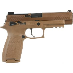 Sig Sauer P320 M17 Coyote Manual NS 9MM Full-Sized 17-Round Pistol