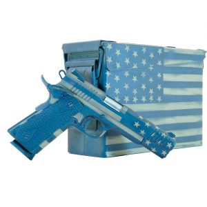 Citadel M1911 .45 ACP American Flag Pistol with Ammo Can
