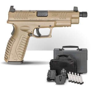 Springfield Armory XD-M 4.5 in 9mm Striker-Fired Pistol with a Threaded Barrel