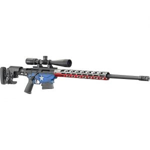 Ruger Precision Texas Flag 6.5 Creedmoor Bolt-Action Rifle