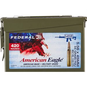American Eagle Training 5.56 x 45mm 55-Grain Centerfire Rifle Ammunition