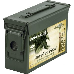 Federal American Eagle XM-855 5.56 x 45mm 62-Grain Centerfire Rifle Ammunition